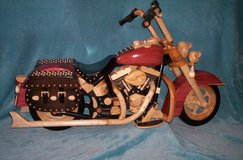 Half Scale Wooden Motorcycle in Leesville, Louisiana