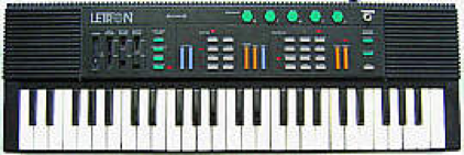 """Letron MC-3 Keyboard w/110 volt wall adapter (or use """"C"""" batteries) in Stuttgart, GE"""