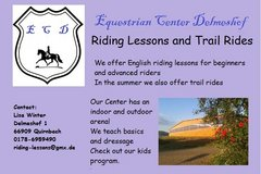 Riding lessons (horseback) in Ramstein, Germany