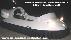 Brand New 14? Neoteric Hovertrek 3877 Deluxe Hovercraft in MacDill AFB, FL