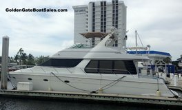 1998 53' CARVER 530 VOYAGER PILOTHOUSE For Sale in MacDill AFB, FL