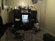 $275 Bed set and $100 entertainment center in Lawton, Oklahoma