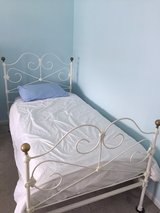 twin vintage iron Bed Frame in Naperville, Illinois