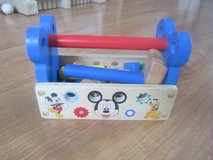 Mickey Mouse Wood Toolbox in Elgin, Illinois