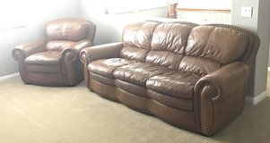 Leather couches in Oceanside, California