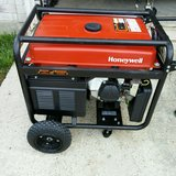 Generator Honeywell 5500 Watt Portable Generator 337 cc in Kingwood, Texas
