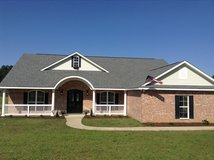 Home for sale Leesville near post 4 bedrooms 2 baths custom home on 1 acre in Fort Polk, Louisiana