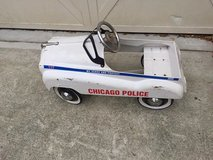 Chicago Police Metal Pedal Car in Beaufort, South Carolina