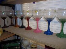 Glittery Wine Glasses in Fort Polk, Louisiana