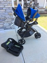 Eddie Bauer Stroller/carseat System in Camp Lejeune, North Carolina