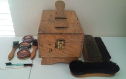 Vintage Shoe Shine Box & Supplies in Conroe, Texas