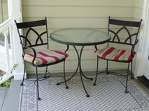 Wrought Iron Bistro Set in Beaufort, South Carolina