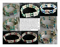 Mother's Day Gift Silver Plated Photo Bracelet in St. Louis, Missouri
