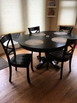 Crate & Barrel dining table set in Bartlett, Illinois