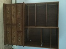 Custom oak bookcase/dresser in Elgin, Illinois