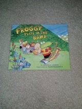 Froggy Play's In The Band, Froggy Plays Soccer, and Froggy's First Kiss book in Camp Lejeune, North Carolina