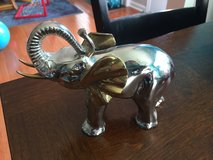 Gold & Silver Elephant in Chicago, Illinois