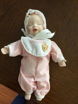 Reduced: Small October Porcelain Doll in Yorkville, Illinois