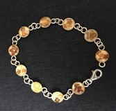 Sterling Silver Bracelet With Real Flowers in 29 Palms, California