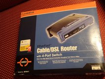 Linksys Cable/DSL Router with 4 port switch - Wired in Kingwood, Texas
