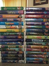 Disney VHS Tapes in Travis AFB, California