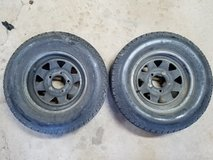Trailer Tires & Wheels 13 inch 5 lug in Lockport, Illinois