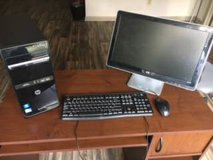 *MUST SELL* Used HP Pavilion Desktop Computer Bundle- ALL WORKING EXCELLENTLY in bookoo, US