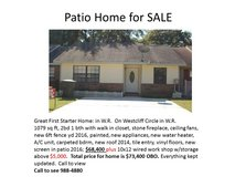 Patio Home for Sale in Warner Robins, Georgia