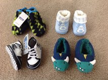 Lot of New Baby Boy Booties from 0 till 12 months. in Bartlett, Illinois