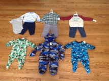 New with tags Baby Boy Clothes Lot, sizes 0 till 9 months in Palatine, Illinois