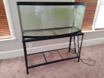 72 Gallon Bow Front Glass Aquarium and Stand in Fort Jackson, South Carolina