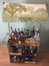 Liquor Bar Wine Cart with wheels in Nellis AFB, Nevada