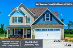 GET FENCE & FRIDGE FOR FREE WITH THIS HOME! in Camp Lejeune, North Carolina