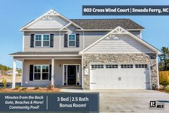 MINUTES FROM THE BACK GATE, BEACHES & MORE THIS HOME IS READY FOR YOU in Camp Lejeune, North Carolina