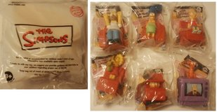 2008 Simpsons Burger King Toys in Fort Campbell, Kentucky