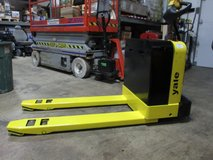 2003 Yale Electric Pallet Jack, Model# MPB040-EN24T2748 in Bartlett, Illinois