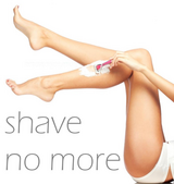 Full legs hair removal::July Campaign in Okinawa, Japan