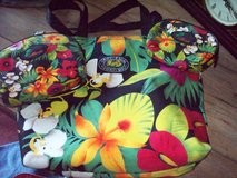 Hawaiian tote bag with 2 smaller item holder in Travis AFB, California