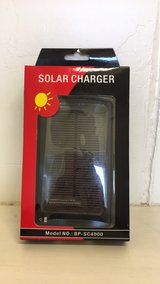 Solar Charger for Phone or IPad in Okinawa, Japan