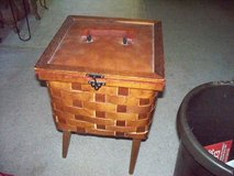 VINTAGE SEWING STAND WICKER in Travis AFB, California