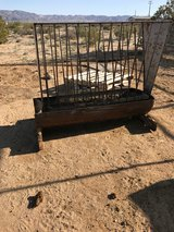 Sturdy Steel Goat Feeder in Yucca Valley, California