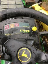 John Deere LX 279 tractor for repair or fixer uper, parts 17hp. KAWASAKI motor hydro. trans. in Oswego, Illinois