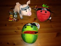 Fruit Ninja plush lot in Spring, Texas