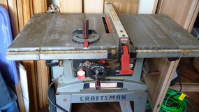 "Craftsman Industrial cast-iron 10"" Table Saw in Okinawa, Japan"