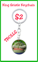TROLLS King Gristle Keychain in Fort Benning, Georgia