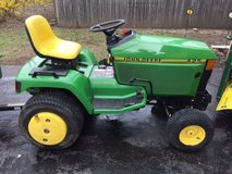 "John Deere 425 Tractor with 54"" Deck & 54"" Plow in Lockport, Illinois"
