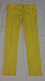 Women Size 11 BRIGHT YELLOW Jeans by Arizona in Fort Benning, Georgia