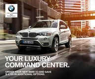 2017 BMW X3 Promotion in Aviano, IT