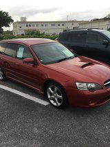 04 Subaru Legacy Turbo in Okinawa, Japan