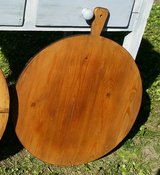 Round bread board treated and refinished antique in Ramstein, Germany